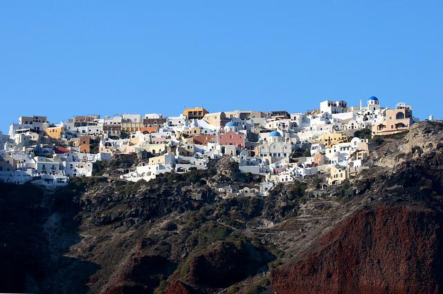 Santorini, Island, Greece, Cyclades, Greek Island