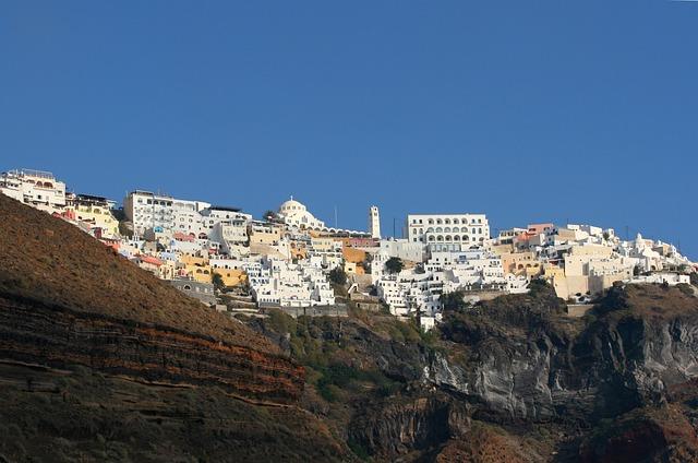 Santorini, Island, Greece, Cyclades, Greek Island