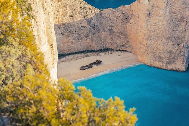 Zakynthos, Greece, Greek Island, Navagio Bay, Navagio