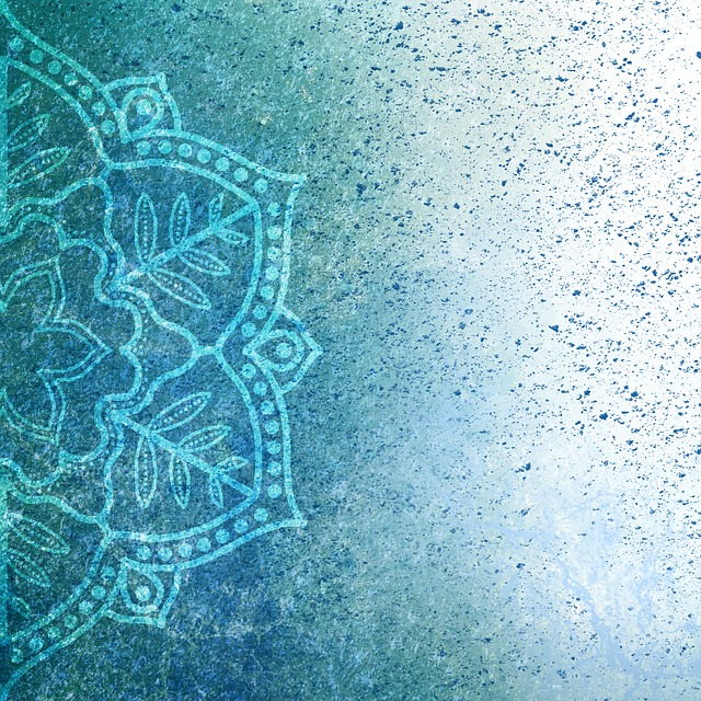 Background, Mandala, Grunge, Pattern, Text, Green