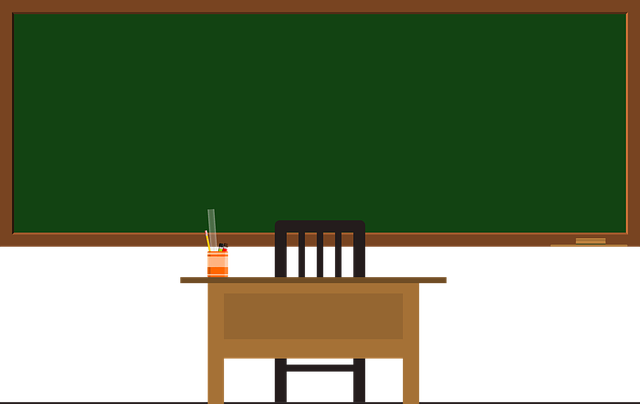 Blackboard, Green Frame, School, Green, Frame