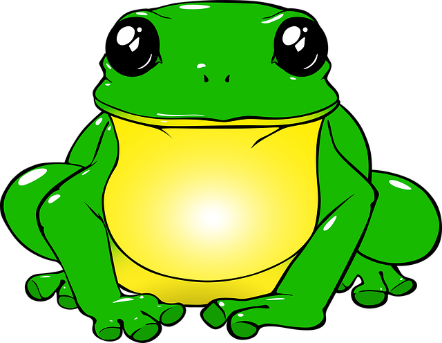 Frog, Toad, Green, Drawing, Png, Animals, Nature, Water
