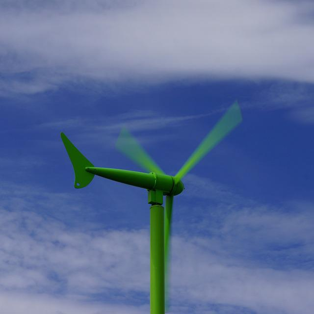 Wind Generator, Green Energy, Energy Production, Rotor