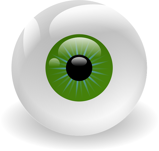 Eyeball, Vision, Retina, Eye, Green, Creepy, Stare