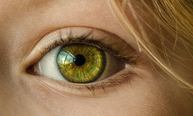 Eye, Green Eye, Close Up, Macro, Girl, Young, Green