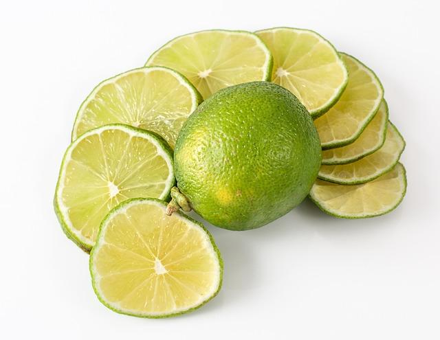 Lime, Fruit, Citrus, Juicy, Tropical, Healthy, Green