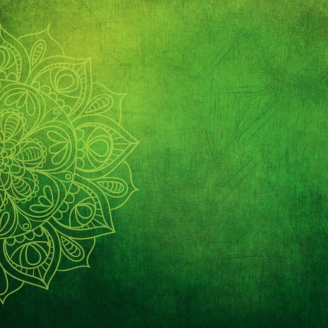 Background, Green, Yellow, Flower, Green Leaves