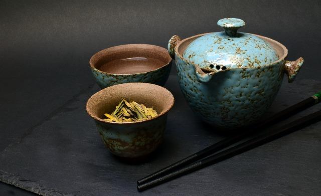 Tee, Tea Set, Chinese, China, Travel Tea Set, Green Tea