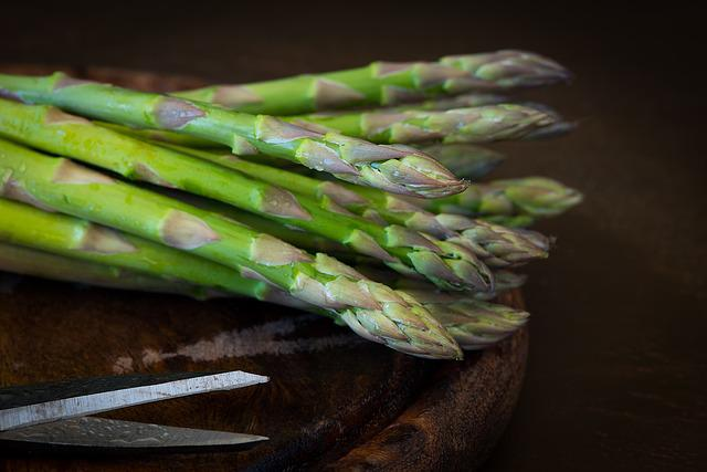 Asparagus, Green Asparagus, Green, Eat, Vegetables