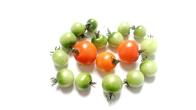 Tomato, Red, Green, Vegetables, Food, Vegetarian
