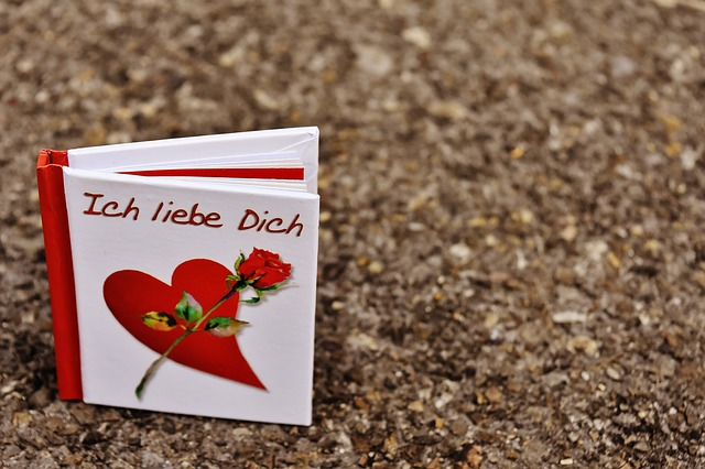 Book, Greeting Card, Love, Valentine's Day, Greeting