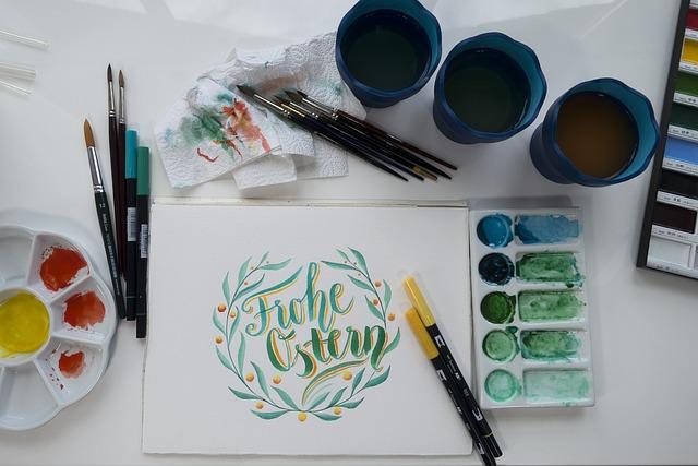 Easter, Greeting, Greeting Card, Green Gradation, Green