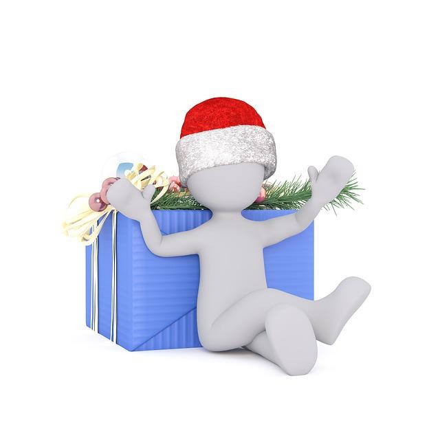 Christmas, Gift, Greeting Card, Christmas Tree