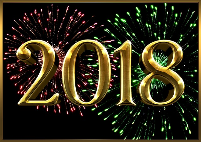 New Year's Eve, 2018, New Year's Day, Greeting Card