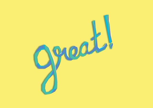 Great, Typo, Design, Word, Tag, Wish, Age, Greetings