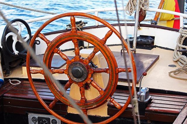 Steering Wheel, Old Steering Wheel, Greifswald