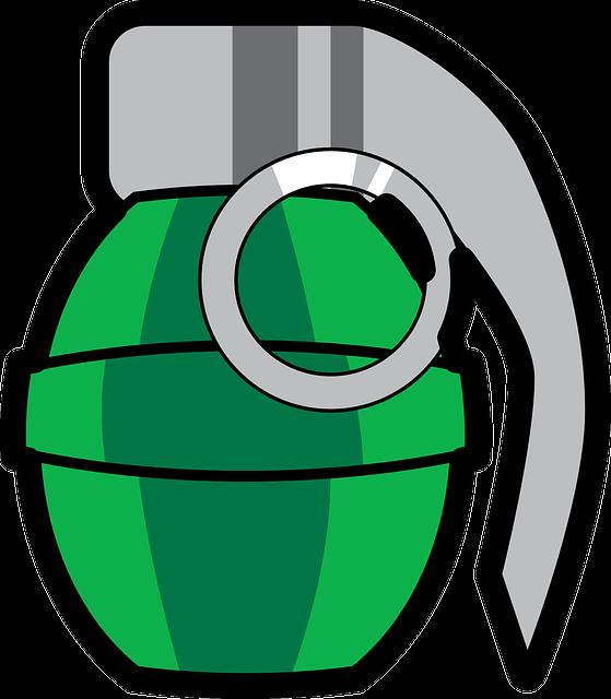 Grenade, Bomb, Explosion, Weapon, War