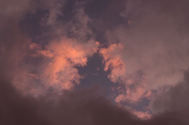 Sunset, Sky, Clouds, Weather, Grey, Dramatic, Storm