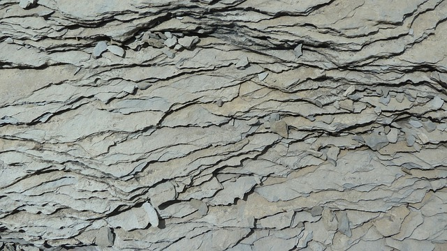 Mountains, Slate, Grey Slate, Structure