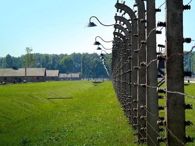 Auschvitz - Birkenau, Concentration Camp, Prison, Grid