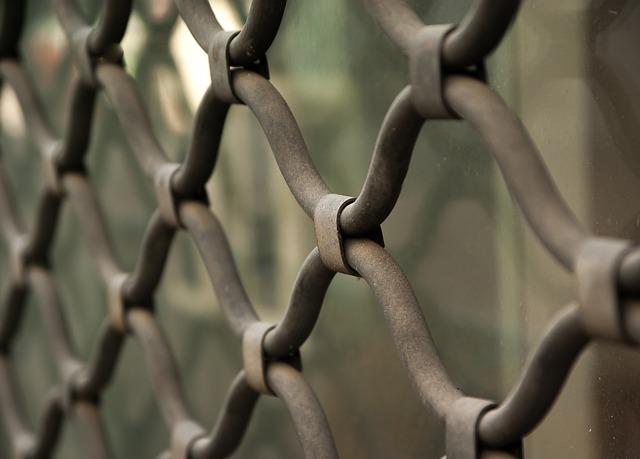 Grid, Closure, Fence, Showcase