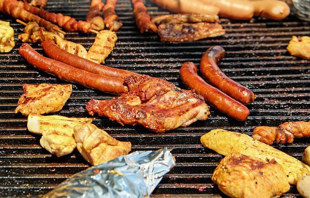 Barbecue, Meat, Sausage, Grilling, Grill, Summer
