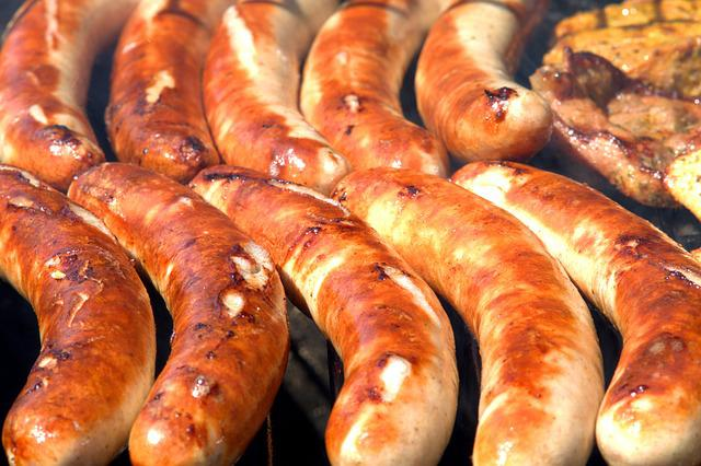 Sausages, Barbecue, Grill, Barbecue Party, Grill Party