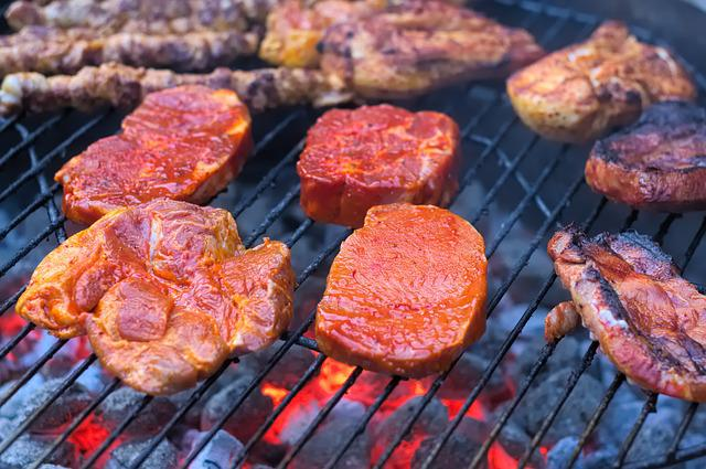 Barbecue, Meat, Sausage, Grill, Summer, Grilled Meats
