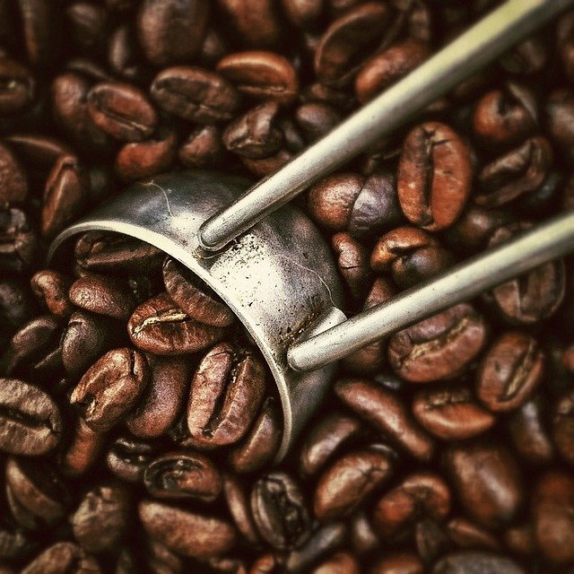 Coffee, Beans, Beverages, Roasting, Grinder, Close