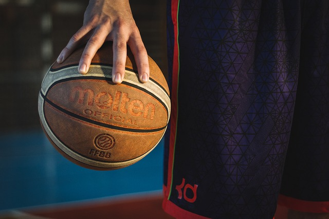 Man, Ball, Basketball, Person, Sport, Holding, Grip