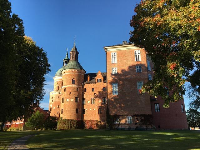 Gripsholm Castle, Castle, Autumn, Mariefred, Sweden