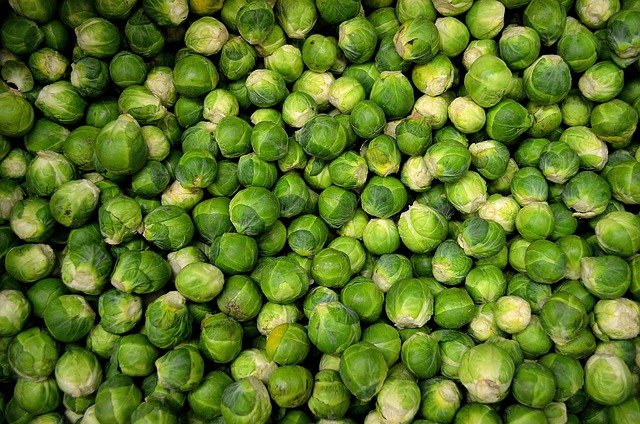 Brussels Sprouts, Sprouts, Cabbage, Grocery