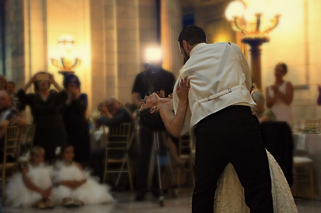 People, Couple, Bride, Groom, Dancing, Wedding, Party