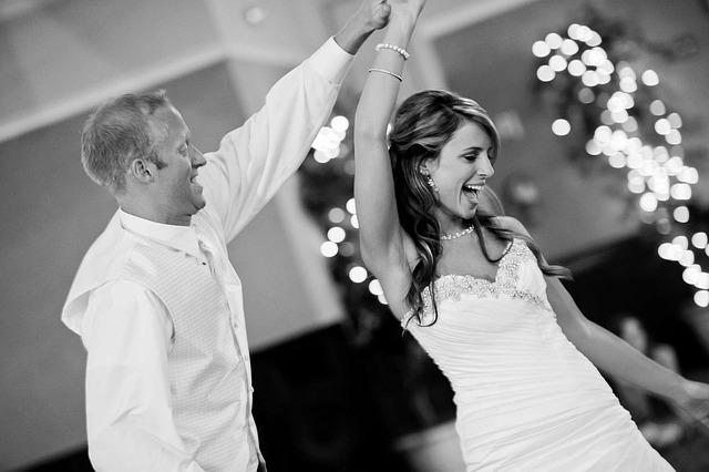 Wedding, Party, Dance, Bride, Groom, Fun, Celebration