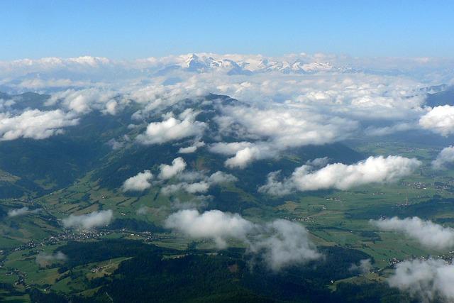 Steinernes Meer, Austria, Grossglockner, Clear, Clouds
