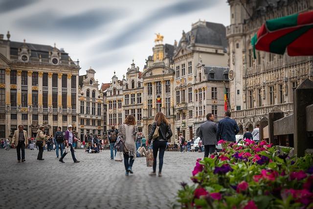 Brussels, Grote Markt, Belgium, Historic Town, Centre