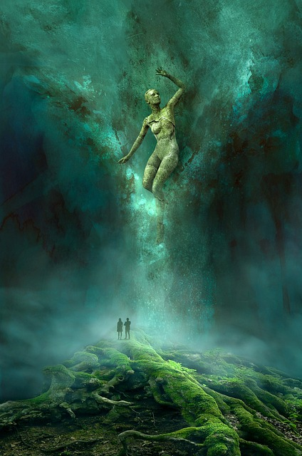 Fantasy, Book Cover, Appearance, Light, Grotto
