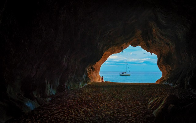 Cave, Grotto, Vacations, Sardinia, Memory