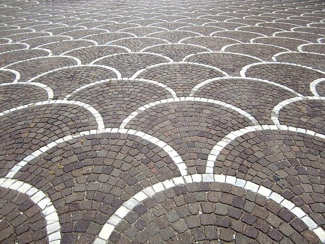 Pavement Surface, Paving Stones, Texture, Ground