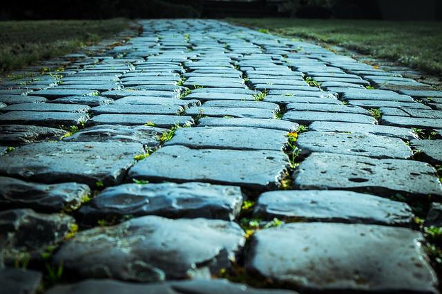 Cobblestones, Paving Stones, Stones, Road, Away, Ground
