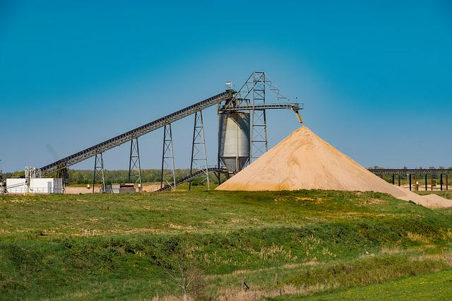 Sand, Pebble, Excavators, Industry, Ground Water