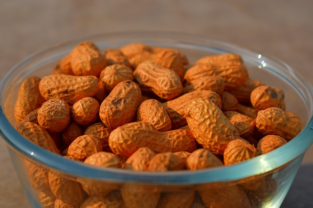 Groundnuts, Peanuts, Nuts, Snack
