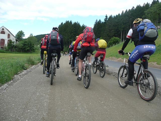 Transalp, Bike Ride, Group, Cycling, Mtb, Mountain Bike