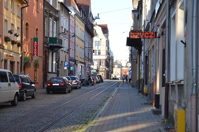 Grudziadz, City, Poland, Townhouses