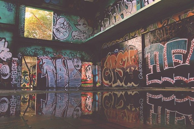 Graffiti, Grunge, Design, Paint, Texture, Vintage, Ink