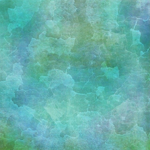 Background, Blue, Green, Vintage, Grunge, Crumbled Wall