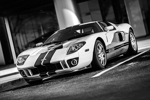 Car, Supercar, Gt, Ford, Speed, Power, Auto, Race