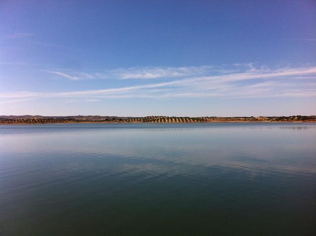 Portugal, Alqueva, Guadiana River