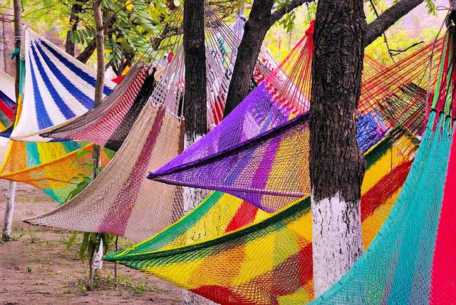 Guatemala, Hammocks, Market, Color