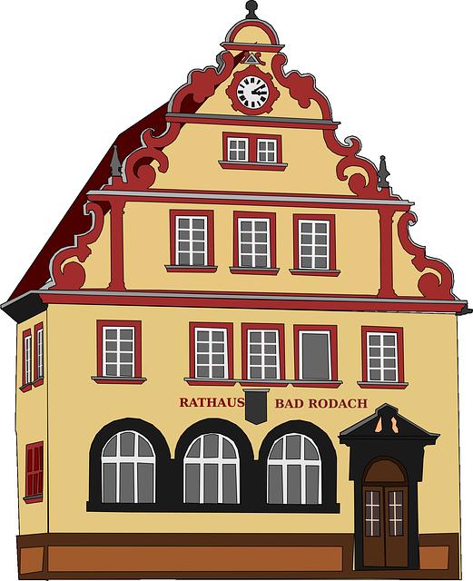 Town Hall, Town-hall, City Hall, Guildhall, House